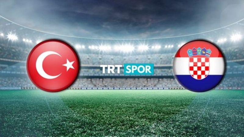 Türkiye - Hırvatistan maçı