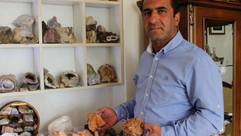 Karnelyan taşını Erzurum'da buldu