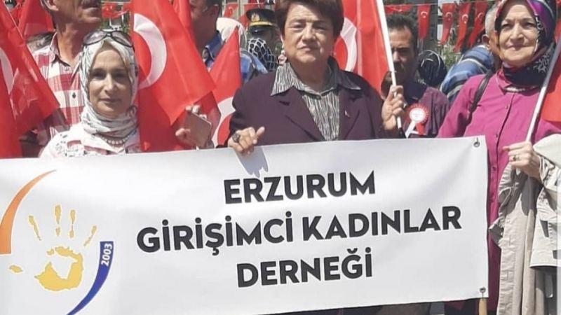 ERZURUM GİRİŞİMCİ KADINLAR DERNEĞİ KARAFATMA'YA SAHİP ÇIKTI