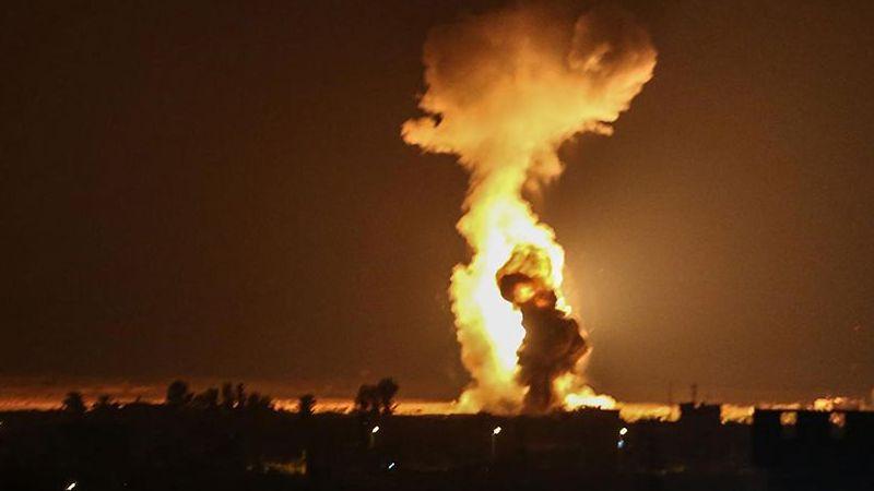 İsrail ordusu, Gazze'ye saldırdı