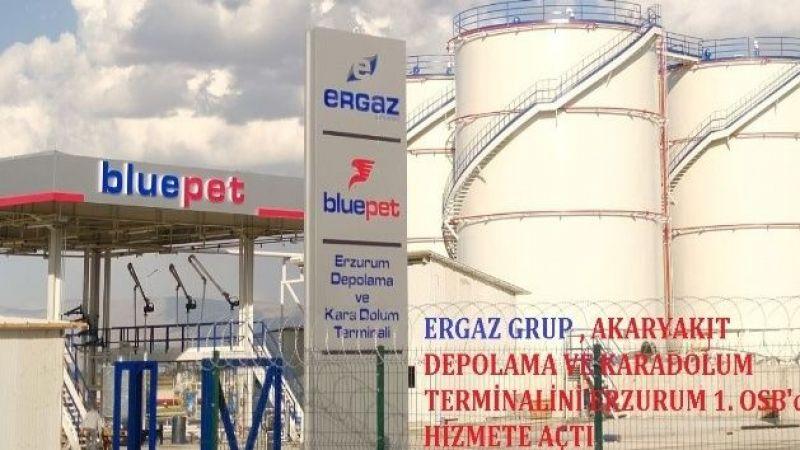Ergaz(blupet)Doğu Anadolu Bölgesinde akaryakıt depolama ve karadolum terminali kurdu.