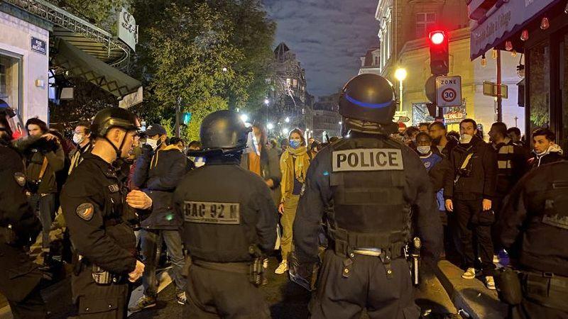 Fransız polisinden sığınmacılara müdahale: Kamplarını dağıtıp, sokak sokak kovaladılar