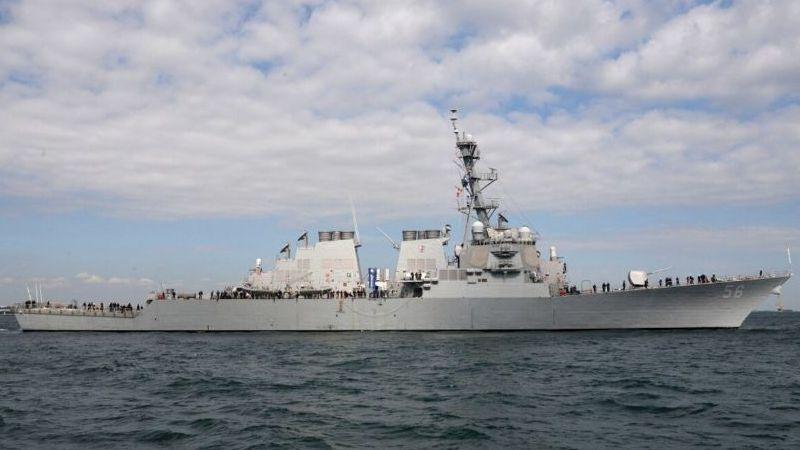 Rus karasularına giren ABD savaş gemisi engellendi
