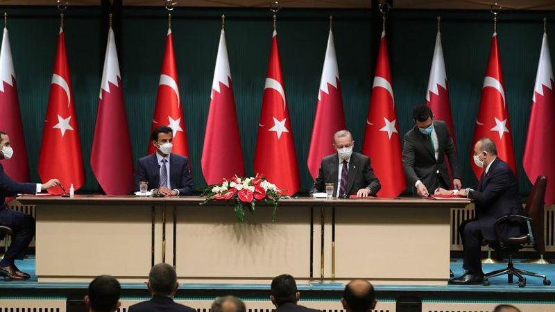 Türkiye ile Katar arasında bir dizi anlaşma: Borsa İstanbul'un yüzde 10'u Katar'a devredildi