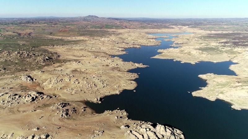 Edirne'nin içme suyunu sağlayan baraj kurudu; 36 saat kesinti uygulanıyor