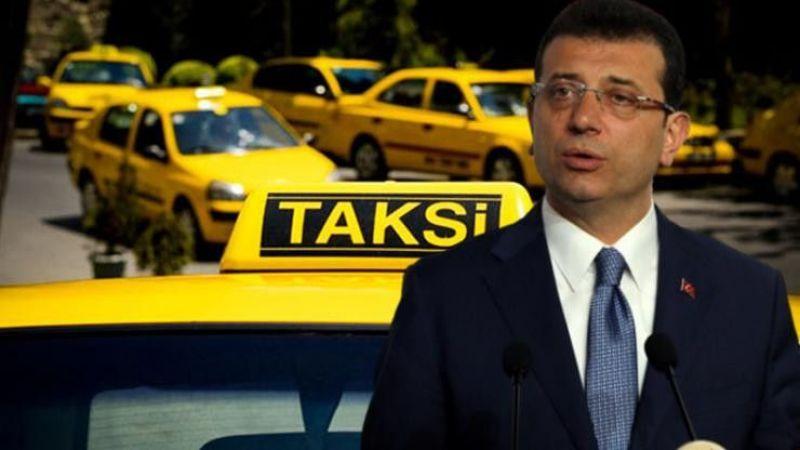 İBB'nin yeni taksi projesini hükümet temsilcileri reddetti!