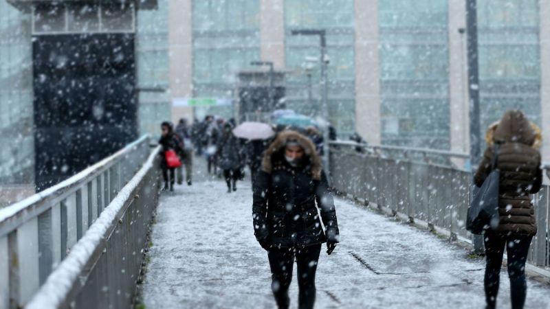 Hafta sonu yağmur var! İstanbul'a kar yağacak mı?