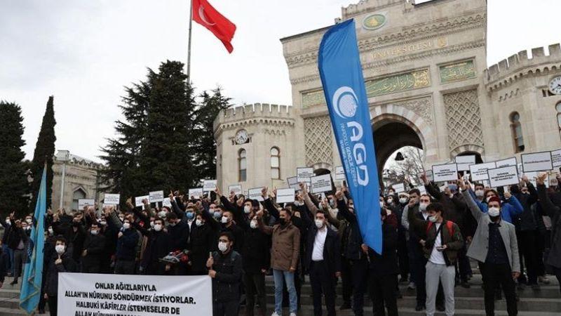 AGD, Kabe'ye saygısızlığı protesto etti