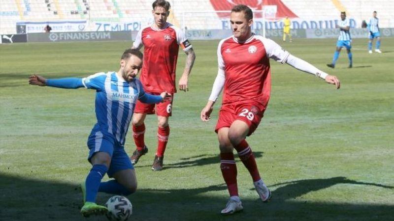 Erzurum'da 4 gol var kazanan yok