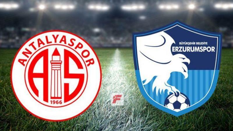 Antalyaspor Erzurumspor maçı saat kaçta, hangi kanalda?