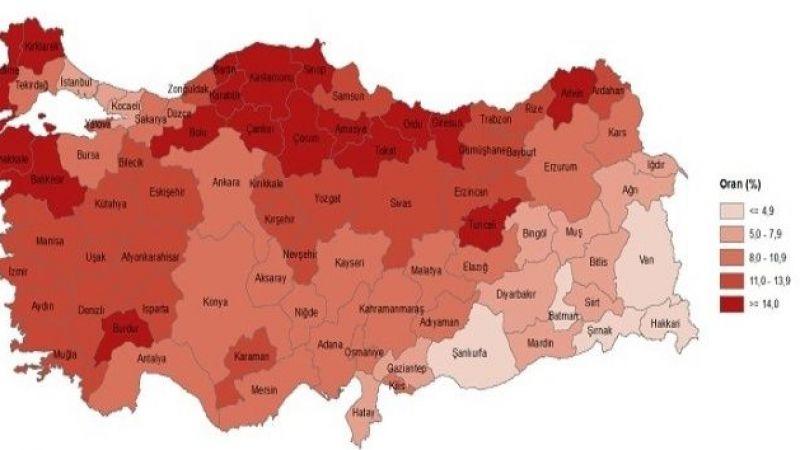 Erzurum Yaşlı Nüfus verileri açıklandı