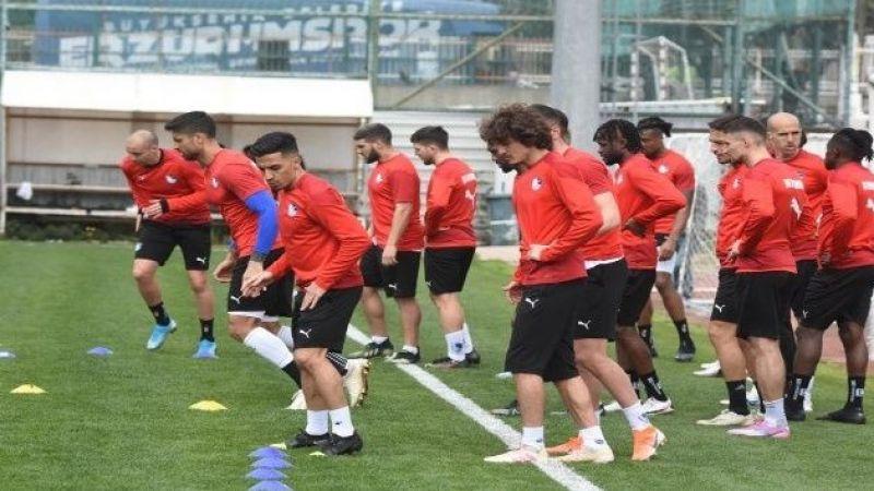BB Erzurumspor Antalyaspor maçı hazırlıklarını tamamladı