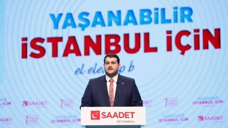 Saadet Partisi İstanbul İl Başkanı Ömer Faruk Yazıcı oldu