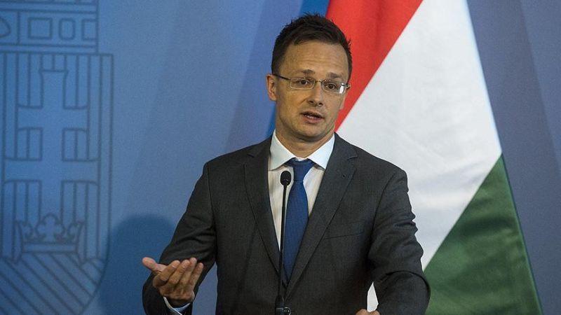 Macaristan Dışişleri Bakanı Szijjarto: Türkiye'ye verilen söz tutulmalı