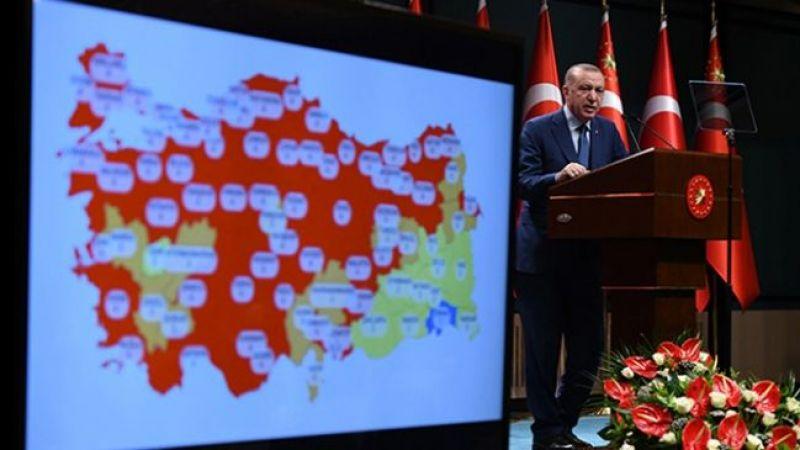 Cumhurbaşkanı Erdoğan, yeni kısıtlamaları açıkladı