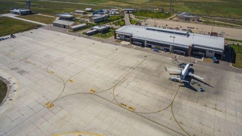 Erzurum'da hava trafiği arttı