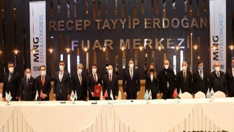 Büyükşehir ve MNG Holding'ten Fuar Merkeziyle ilgili işbirliği protokolü