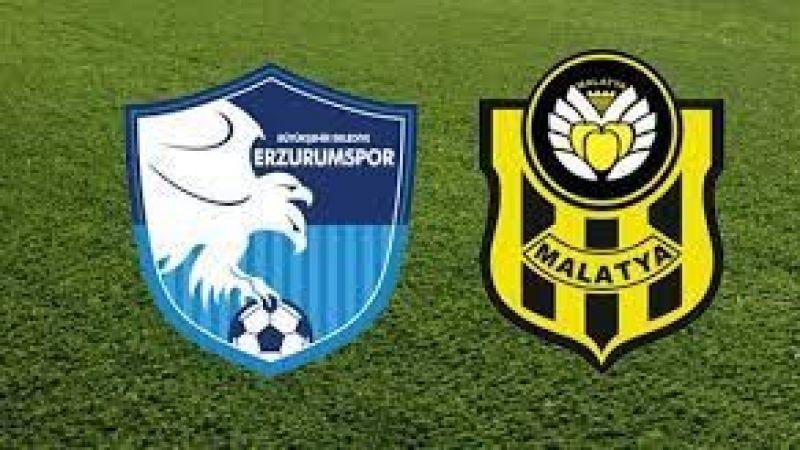 Erzurumspor'un konuğu Yeni Malatyaspor