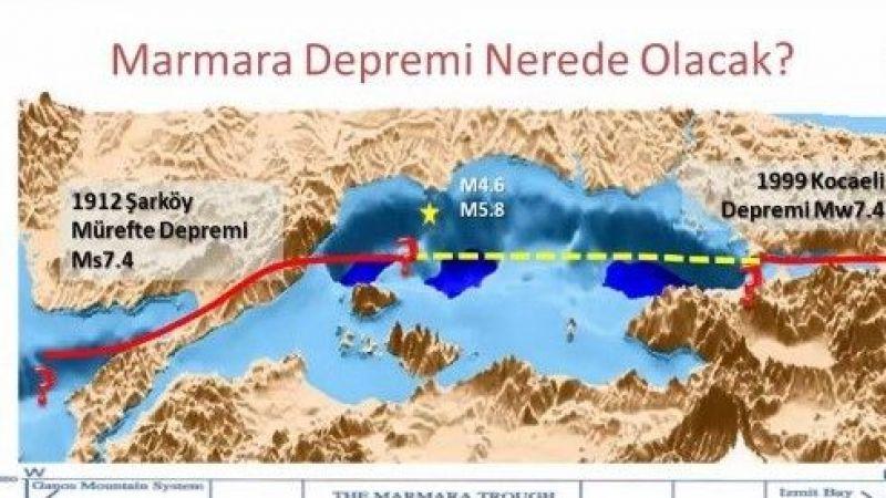 Marmara depremi ile denizde tsunami görülmesi de kaçınılmazdır
