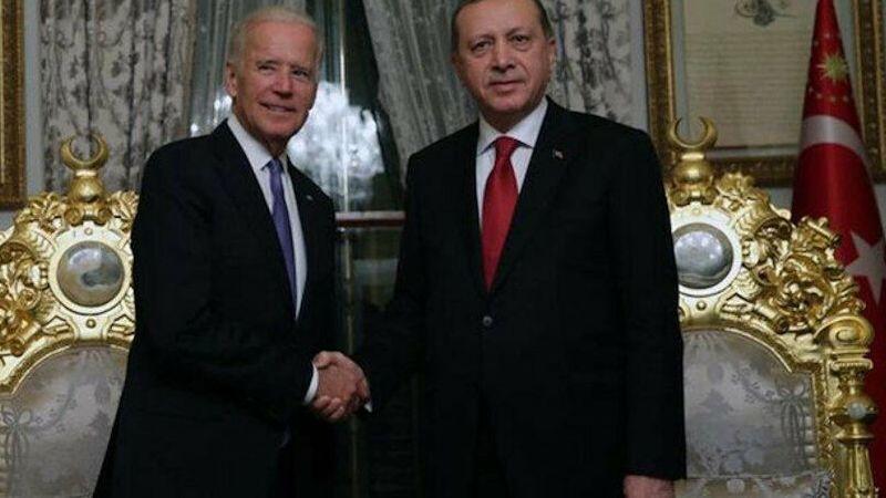 Başkan Erdoğan Biden ile görüştü