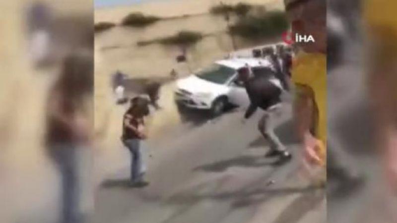 Kudüs'te İsrailli yerleşimci, aracını Filistinlilerin üzerine sürdü