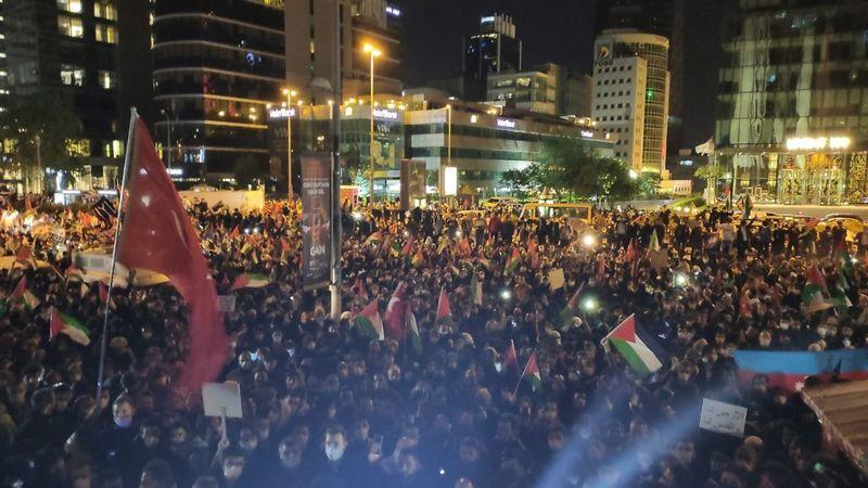 İstanbul'dan Kudüs ve Mescid-i Aksa'ya destek!