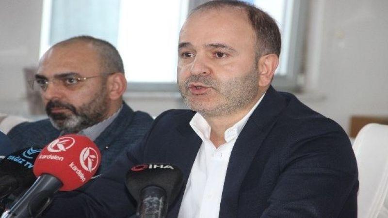 """BB Erzurumspor Başkanı Düzgün: """"1 puanla ligden düşmek çok acı verici"""""""
