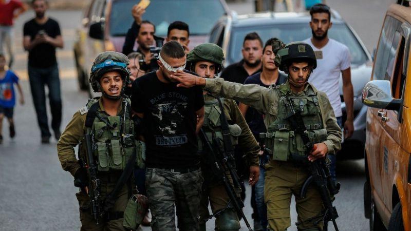 Siyonist çeteden gece baskını: 41 Filistinli gözaltına alındı