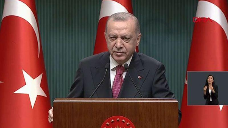 Cumhurbaşkanı Erdoğan kademeli normalleşme takvimini açıkladı