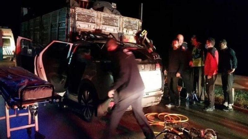 Erzurum'da kazada yaralanan genç bir haftalık yaşam mücadelesini kaybetti