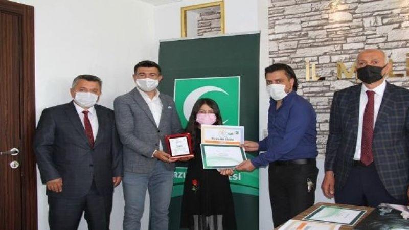 Sağlıklı Nesil Sağlıklı Gelecek yarışması ödül töreni yapıldı