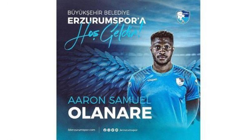 BB Erzurumspor Olanare ve Ahmet Canmaz'ı kadrosuna dahil etti