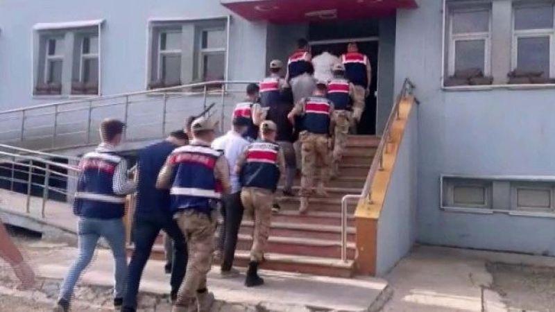 PKK/KCK terör örgütüne yardım ve yataklık eden 7 şahıs operasyonla yakalandı