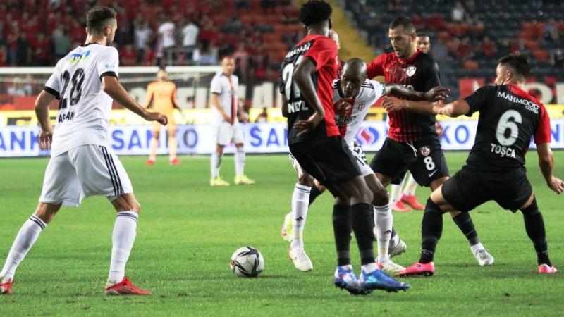 Beşiktaş Gaziantep'te takıldı