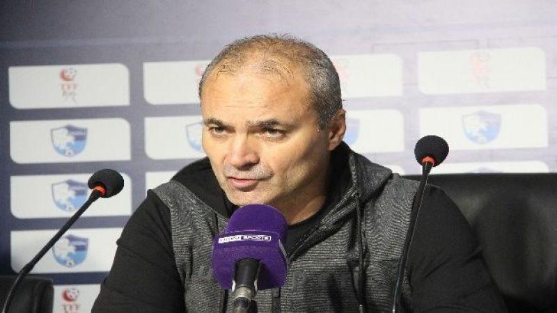 """Erkan Sözeri: """"Oyuncularımı gönülden kutluyorum, fiziksel eksikliğe rağmen bu savaşı her futbolcu yapamaz"""""""