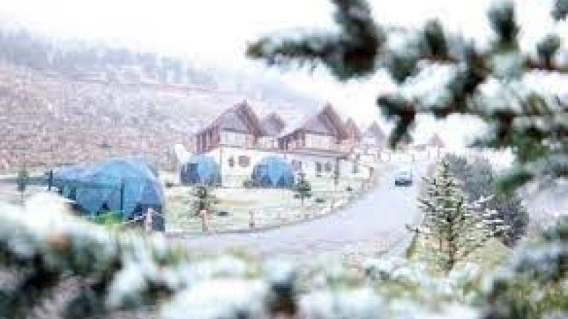 Erzurum ve Kars'ta kar yağışı etkili oldu, Palandöken beyaza büründü