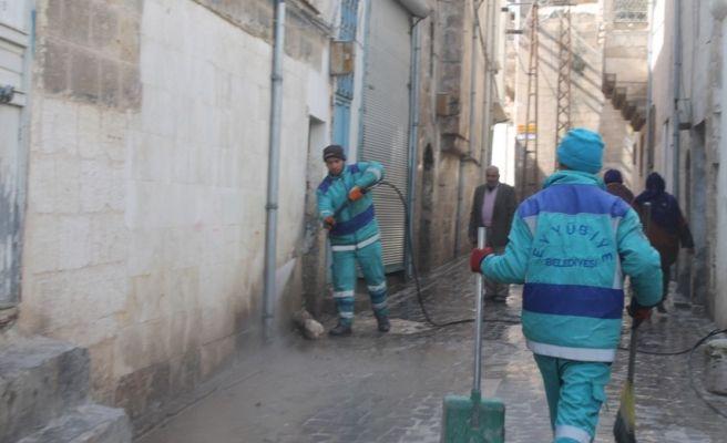 Eyyübiye Belediyesi temizliğe önem veriyor