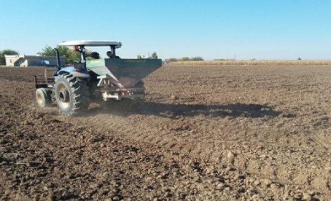 Ovada Buğday Ekimi Başladı
