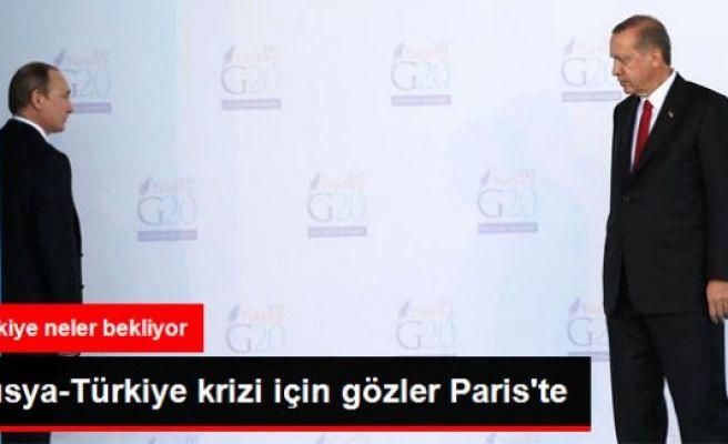 Rusya-Türkiye Krizi İçin Gözler Paris'te