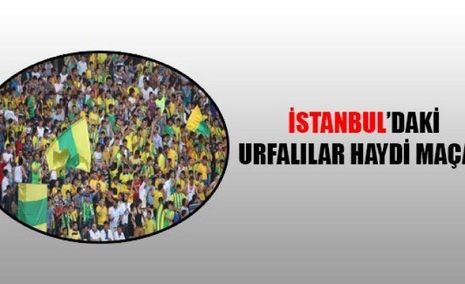 İstanbul'daki Urfalıların hasreti sona eriyor