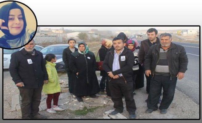 Büşra Demir için ailesi eylem yaptı