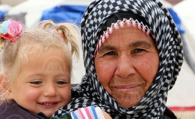 Urfa'daki Suriyeli sığınmacılara destek çağrısı