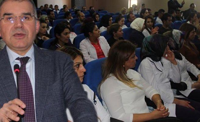 Urfa'da Kemoterapi Hastalarına resim dersi