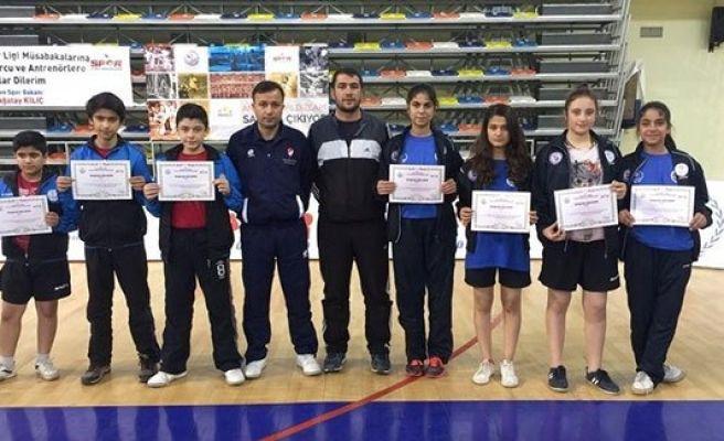Urfa'daki masa tenisi turnuvası sona erdi