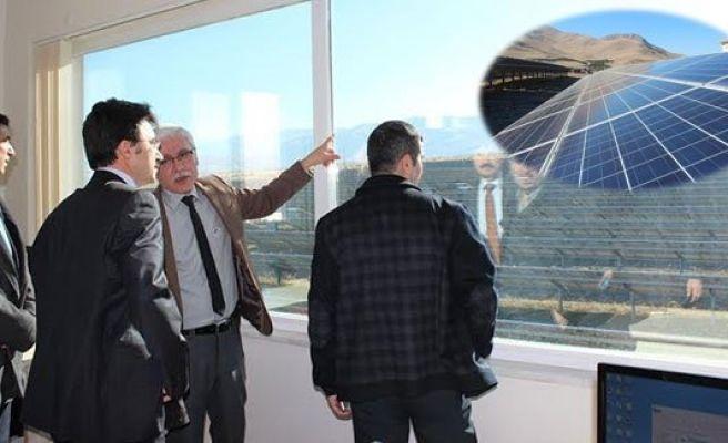 Urfa'ya güneş enerjisi santrali kuruluyor