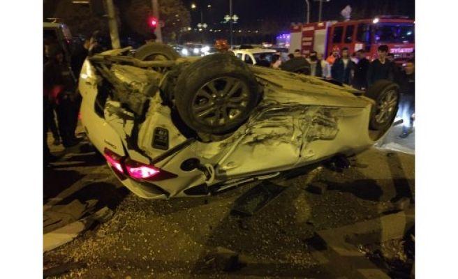 Şanlıurfa'da feci kaza 2 yaralı
