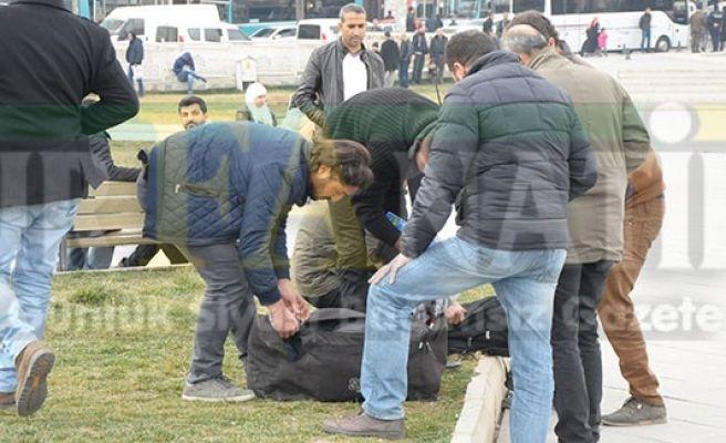 Urfa'da polisleri harekete geçiren adamlar