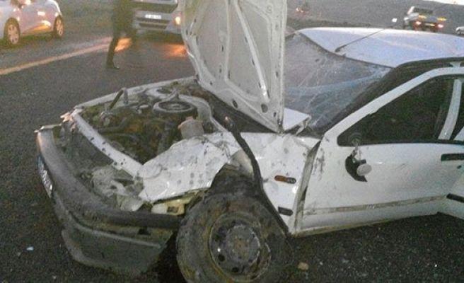 Urfa'da kaza: 5 yaralı