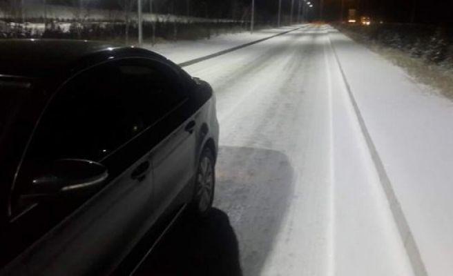 Urfa'da Kar yağışı başladı