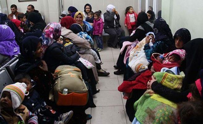 Urfa'da günde bin 500 çocuk tedavi ediliyor